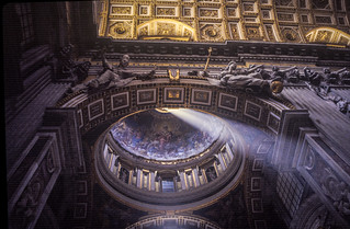 ST Peter Basilica dome