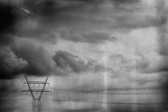 There's Electricity in the Air (tvdijk19) Tags: electricity fuji clouds wolkenlucht flevoland
