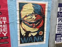 Boris Johnson by Martin Rowson (Matt From London) Tags: borisjohnson wank poster streetart