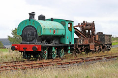 Hudswell Clarke 0-6-0ST No. PD10 (1900) (Roger Wasley) Tags: hudswellclarke 060st pd10 bigpit mining museum blaenavon southwales steam locomotive trains railways heritage
