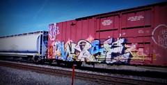 (timetomakethepasta) Tags: wyse d30 freight train graffiti art tr boxcar
