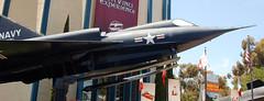 Convair F2Y Sea Dart (earthdog) Tags: 2009 travel sdam aerospacemuseum sandiegoairspacemuseum museum sandiego balboapark f2y sea dart seaplane aircraft vacation nikond50 nikon d50 1855mmf3556 convair f2yseadart seadart airplane jet