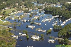 Hurricane Florence North Carolina Aftermath (Greenpeace USA 2016) Tags: hurricane aerial flooding florence northcarolina lumberton unitedstates usa