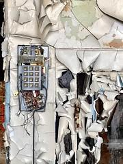 Phone call was crackly (neilsharris) Tags: abandonedchicago