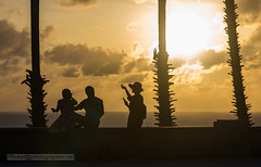 XOKA8685s (Phuketian.S) Tags: people silhouette sunset sea sky plam tree beauty girl woman peoples street road water andamansea indianocean nature evening babe cloud landscape
