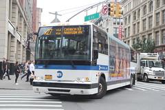IMG_1737 (GojiMet86) Tags: mta nyc new york city bus buses 2011 x345 2456 x27 6th avenue 23rd street