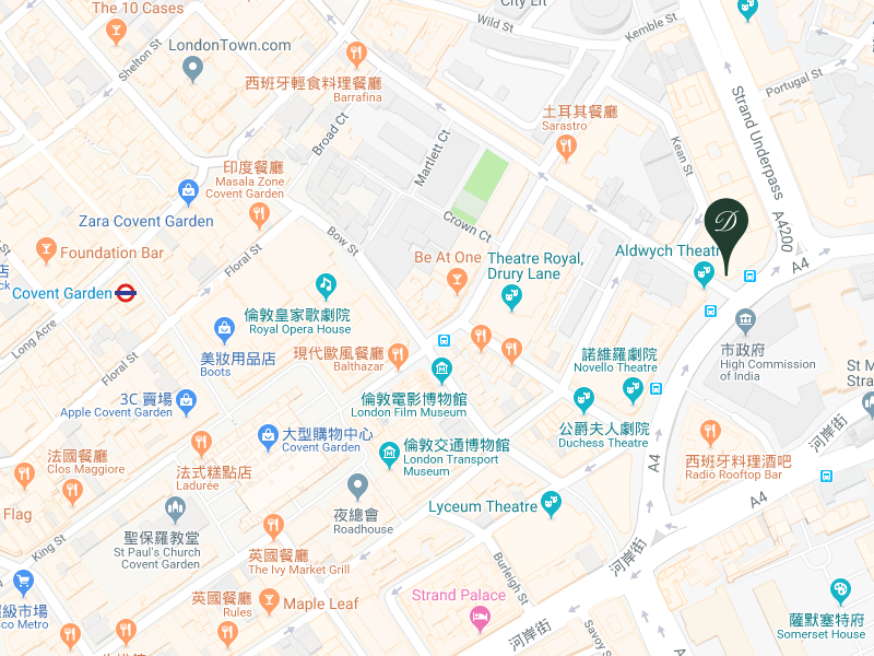 英式下午茶The Delaunay&柯芬園Covent Garden-07