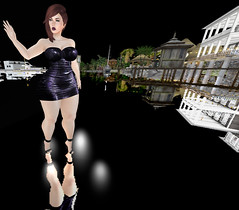 Reflecting. 0266 (gwendolyn beverly) Tags: nonspon sl secondlife riot infinitiposes whimsicalevent thewhimsicalevent gwensbentoshapes gwensfreestyle catwa catwalee bellezafreya notfound arte bramble purepoison