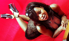 Sugar Black Lace Crochet Robe Panties and Bra Lingerie Portrait Philly Studio Philadelphia Aug 1997 042a  Décolleté Low Neckline Beautiful Breasts Cleavage (photographer695) Tags: sugar black lace crochet robe panties bra lingerie philly studio philadelphia aug 1997 décolleté low neckline beautiful breasts cleavage