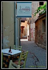 Narrow street (Dr_Babis) Tags: nikon d610 fx nikkor50mm greece crete chania splantzia street