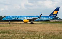 Icelandair TF-FIR pmb20-07800 (andreas_muhl) Tags: 757200 80yearsofaviation19372017 ams amsterdam august2018 eham icelandair sonderlackierung tffir aircraft airplane aviation planespotter planespotting