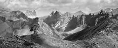 Alpine landscape (Sophie et Fred) Tags: alpes landscape paysage mountain bw nb france thabor hautesalpes loule pass col