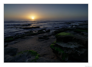 First Light on a Rocky Shore