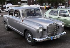 190D (Schwanzus_Longus) Tags: cloppenburg german germany old classic vintage car vehicle sedan saloon mercedes benz 190d
