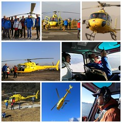 Airbus H125 (posterboy2007) Tags: airbus h125 helicopter mteverest yellow pilot
