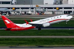 Shanghai Airlines | Boeing 737-8 | B-1260 | Shanghai Hongqiao (Dennis HKG) Tags: aircraft airplane airport plane planespotting skyteam canon 7d 100400 shanghai hongqiao zsss sha shanghaiairlines csh fm b1260 boeing 737 7378 boeing737 boeing7378 737max boeing737max