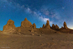 The Milky Way Over Trona (Mimi Ditchie) Tags: milkyway trona tronapinnacles night rocks starrynight stars astrophotography