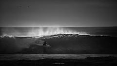 This is... my...last exit (.KiLTRo.) Tags: pichilemu viregión chile cl kiltro mar sea océano ocean agua water surf surfer surfing wave ola contrast dark sport extreme