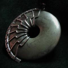 MM 10 September 2018: Jasper Pendant (jefalump) Tags: macromondays rock jasper donut pendant macro