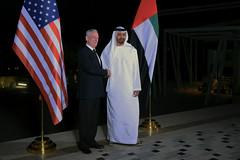 Mattis Travels to United Arab Emirates (Secretary of Defense) Tags: ussecretaryofdefensejamesnmattis jimmattis unitedarabemirates crownprinceofabudhabi mohammedbinzayedalnahyan