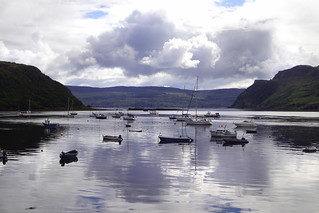 habour of Portree