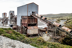 Penmaenmawr (Maisiebeth) Tags: quarry mine penmaenmawr wales northwales coast industry derelict conveyor