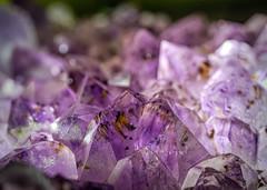 Amethyst Rock (Jack Heald) Tags: rock macromondays color dof amethyst heald jack macro micro nikon d750 focus purple crystal