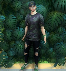 All Nautral (EnviouSLAY) Tags: tiller greenery green plants natural jeans blue hat cap watch sneakers shirt ripped rippedjeans denim riot momento belleza bento lelutka newreleases new releases tmd themensdepartment the mens department pale male gay blogger secondlife second life fashion photography mensmonthly mensfair mensfashion mensevent monthlymen monthlyfashion monthlyfair monthlyevent monthly men event fair