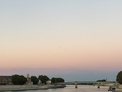 Arles sky in the morning I (le cabri) Tags: arles provence sky bridge city cityscape water rhone river morning soft iphone ancient birds history outdoors architecture famousplaces tourism travel viewpoint france buildings