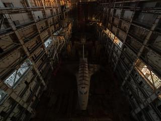 Abandoned soviet shuttles