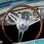 MG A Twin Cam Interior