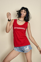 _DSC2769 (an Artist Without Art) Tags: jenny kittesenucula hotpants sexy teen latina skinny red noct larrygelmini badteen girl