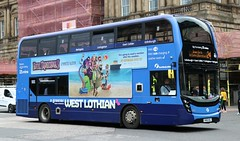 First Scotland East 33437 SN66WGJ in Edinburgh working on West Lothian services. (Gobbiner) Tags: firstscotlandeast sn66wgj edinburgh e400mmc westlothian 33437 adl