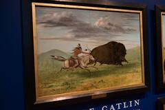 Buffalo hunt (quinet) Tags: 2017 aborigène canada firstnations gemälde georgecatlin indian kunst ontario rom royalontariomuseum toronto ureinwohner aboriginal art museum musée native painting peinture