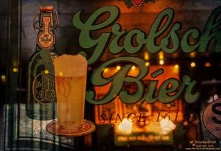 Beer Advertisement inside Shank's Tavern, Marietta PA