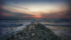 Sundown... (D.Purkhart) Tags: sundown sonnenuntergang sonyxz clouds cloudporn norderney nordsee landscapephotography landscape hdr