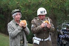American Lunch Break (big_jeff_leo) Tags: yorkshire uppermill reenactment ww2 secondworldwar mp