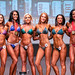 Open Bikini C 6th Erin Keegan 4th Larissa Kroeker 2nd Alicia Dyer 1st Rachel Barneston 3rd Julia Gurney 5th Michelle Collins