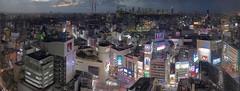 1.2 Gigapixel Panorama of Shibuya in Tokyo, Japan (inefekt69) Tags: japan tokyo shibuya shinjuku skyline dusk view cityscape skyscrapers buildings sunset neon streets panorama gigapixel stitched ptgui nikon 100mm d5500 55300mm shibuyaexcelhoteltokyu scramble crossing 日本 東京 渋谷 新宿