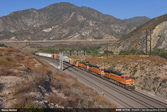 BNSF #7776 (Marco Stellini) Tags: bnsf railroad california san bernardino ca ge general electric es44dc gevo evolution series