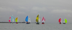 Sonata's on the Medway (Adam Swaine) Tags: medway rivermedway yachts sailing sails english englishrivers england estuary estuaries uk waterside britain british boats canon sail waterways sonata