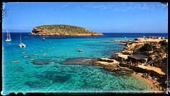 Cala Comté (Jean-Louis DUMAS) Tags: ciel sky bluesky blue bleu méditerranée sea water mer nature espagne île baléares ibiza