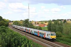 B0312+0314--2018_08_31_097 Hennuyères (phi5104) Tags: trains treinen sncb nmbs hennuyères