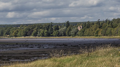 Redcastle (prajpix) Tags: sea loch water firth shore beach tidal estuary inverness highlands scotland blackisle hills mountains trees woods woodland castle ruins house building architecture landmark history