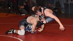 Luke Welch vs Thayer Atkins 0586 (Chris Hunkeler) Tags: lukewelch purdue thayeratkins duke 125 bout564 2017 cklv amateur college wrestling wrestlers