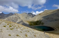 lac des Garrets (b.four) Tags: mountain montagne montagna lago lake lac garrets hautvar alpesmaritimes