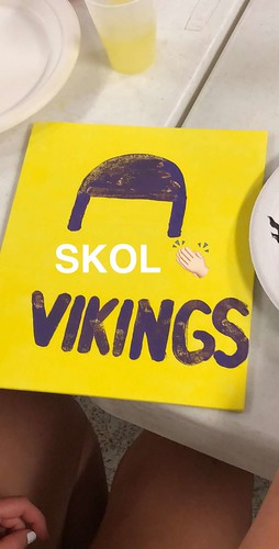 Canvas painting Vikings