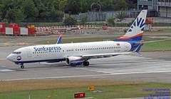 TC-SOF LSZH 28-07-2018 (Burmarrad (Mark) Camenzuli Thank you for the 13.4) Tags: airline sunexpress aircraft boeing 7378hc registration tcsof cn 61191 lszh 28072018
