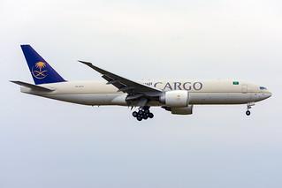 HZ-AK73 Saudi Cargo Boeing 777-200LRF Amsterdam Schiphol