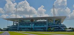 Hard Rock Stadium - Miami (xtaros) Tags: hardrock hardrockstadium miami florida xtaros building stadium architecture concrete